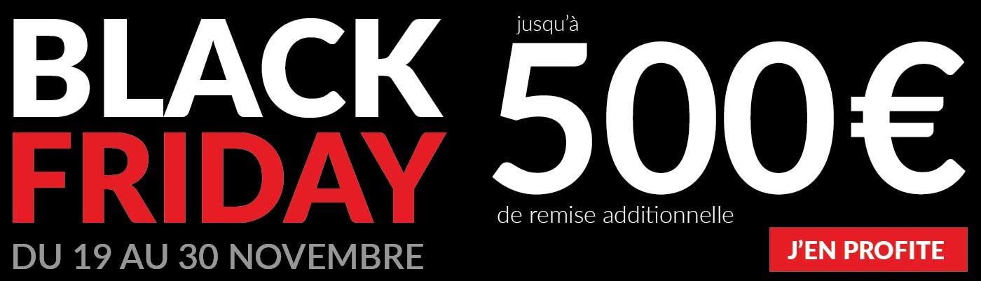 Pour le Black Friday, S.Beke vous propose une sélection de véhicules à prix discount avec un bonus exceptionnel