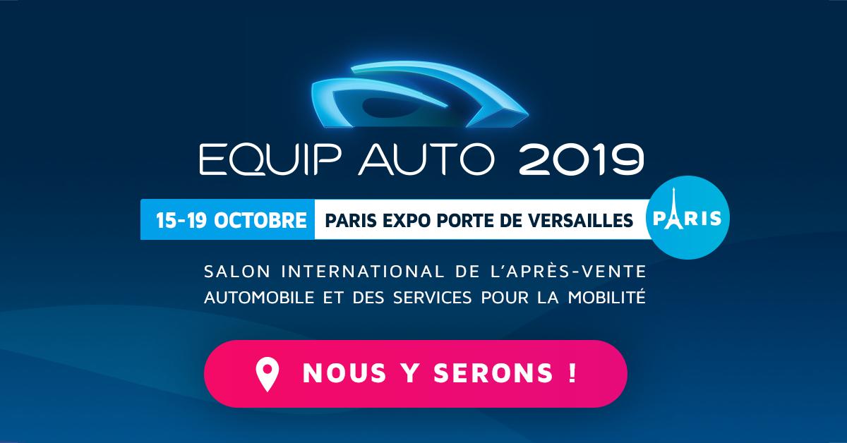 EDP Auto présent sur le Salon Equip Auto 2019