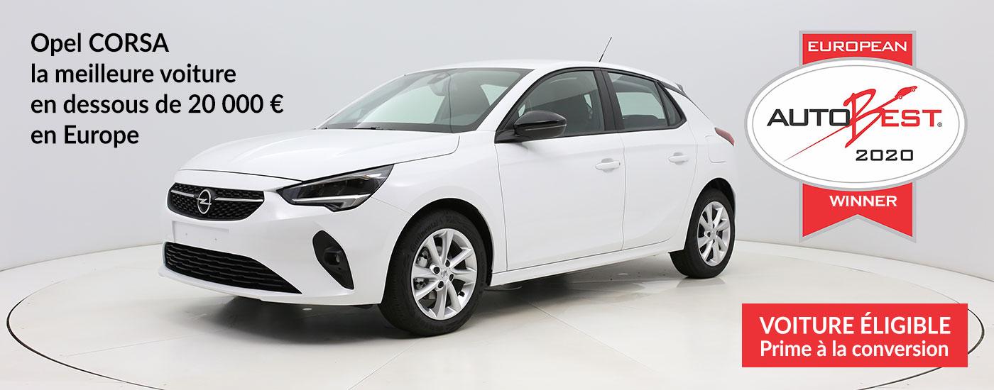 Nouvelle Opel Corsa : une redoutable concurrente pour la Peugeot 208