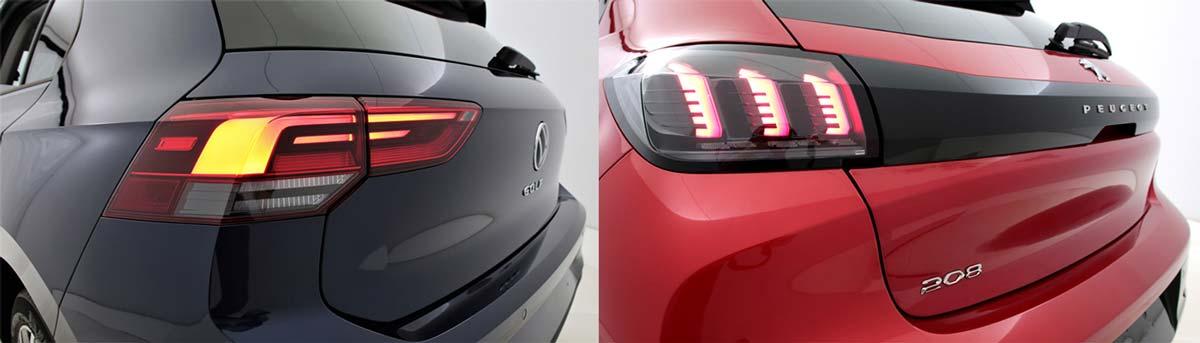 Peugeot 208 et VW Golf : découvrez les dernières nouveautés de notre catalogue