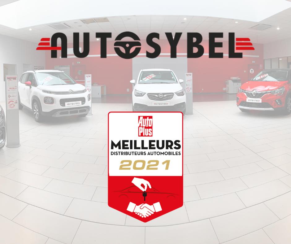 Autosybel, élu meilleur distributeur automobile 2021 !