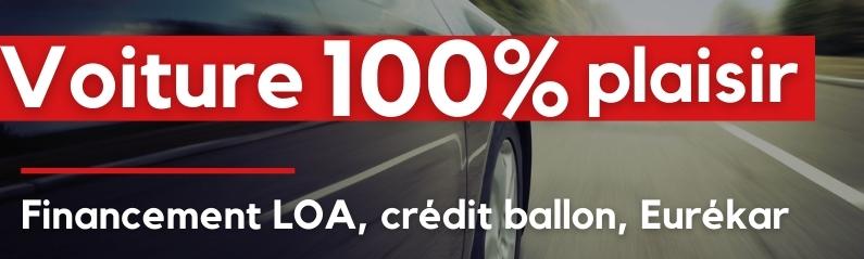 LOA, crédit ballon, contrat Eurékar :  le choix d'une voiture 100% plaisir et zéro risque !
