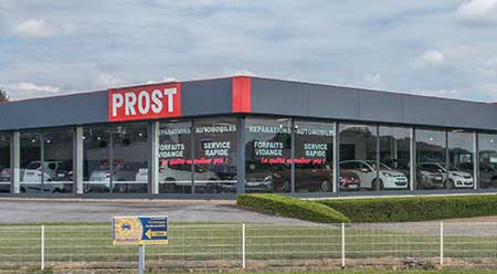 Centre Auto Prost, showroom