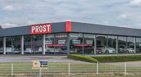 Centre Auto Prost, showroom